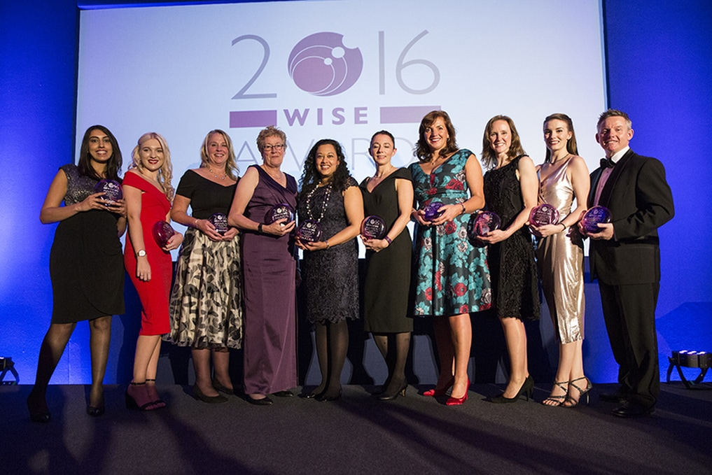 WISE Awards Winners 2016 - Awards by Gemma Truman Photo Credit: Pat Langford